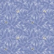 Lewis & Irene Grandma's Garden - 5290 - Buddleia, Floral in Lilac & Lavender  - A196.2 - Cotton Fabric